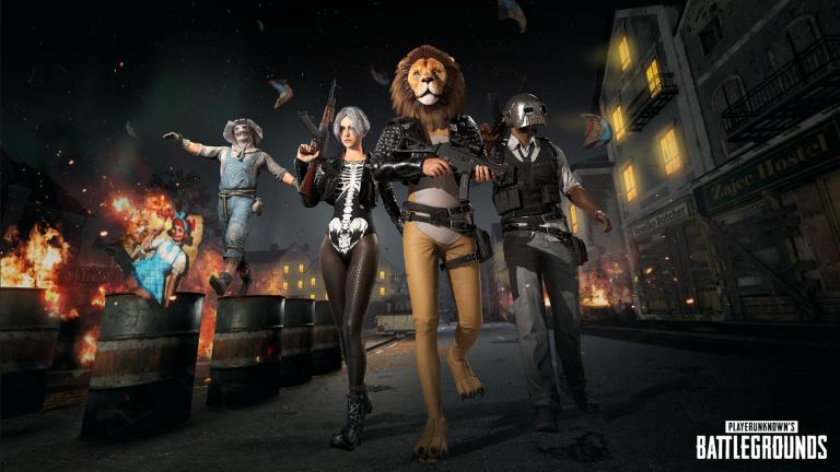 PUBG : le patch 4.3 et les skins d'Halloween arrivent cette nuit sur PC