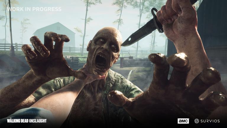 The Walking Dead Onslaught aura droit à une version physique PS VR