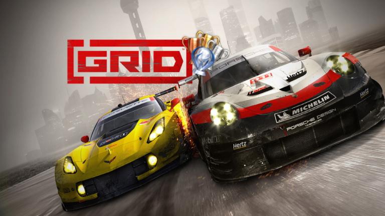 GRID : la course aux trophées / succès