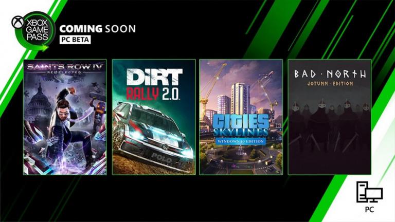 Xbox Game Pass (PC) : sept jeux et une mise à jour de l'application annoncés