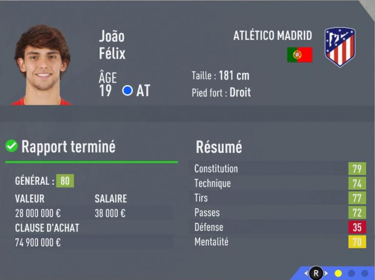 FIFA 20 : les 20 jeunes joueurs les plus prometteurs, notre guide