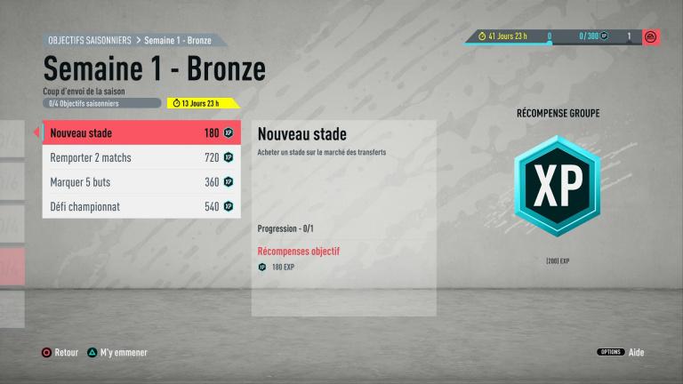 FIFA 20 : défis hebdomadaires saison 1, semaine 1, notre guide