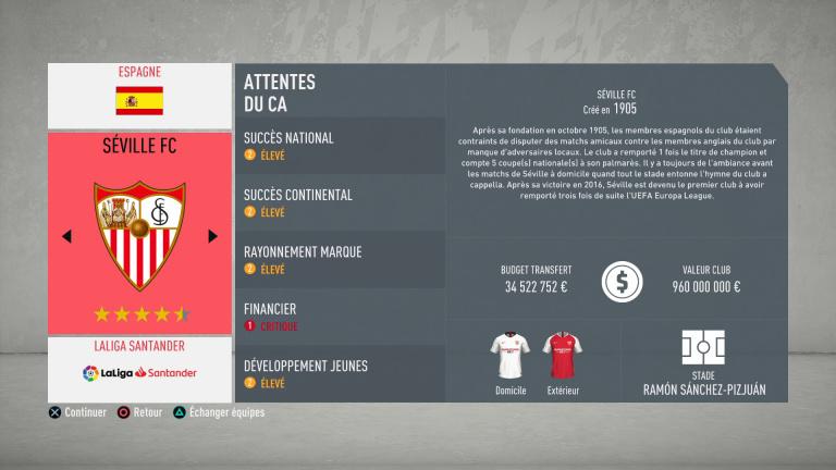 FIFA 20 : tous les budgets des clubs de LaLiga (Espagne)