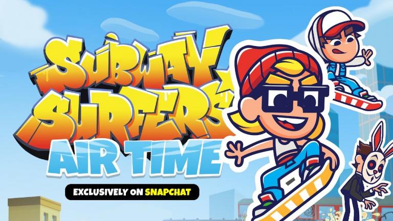 Subway Surfers Airtime annoncé et disponible sur Snap Games