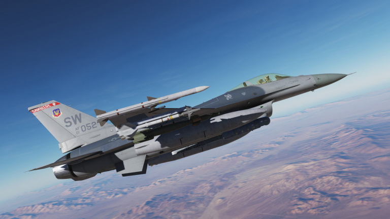 Le F-16C Viper disponible pour DCS World