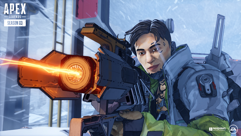 Le fusil à charge, la nouvelle arme d'Apex Legends