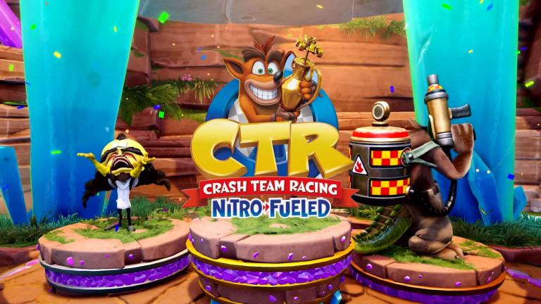 Crash Team Racing Nitro-Fueled : les trois prochains Grand Prix annoncés