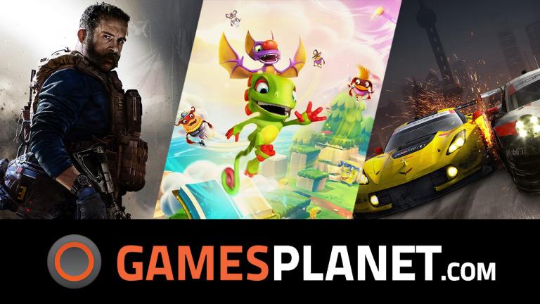 Des sorties et des promos chez Gamesplanet!