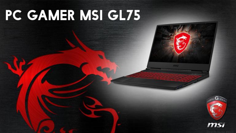 PC Portable MSI Gamer Intel Core i7 512 Go SSD à -26% chez la Fnac!
