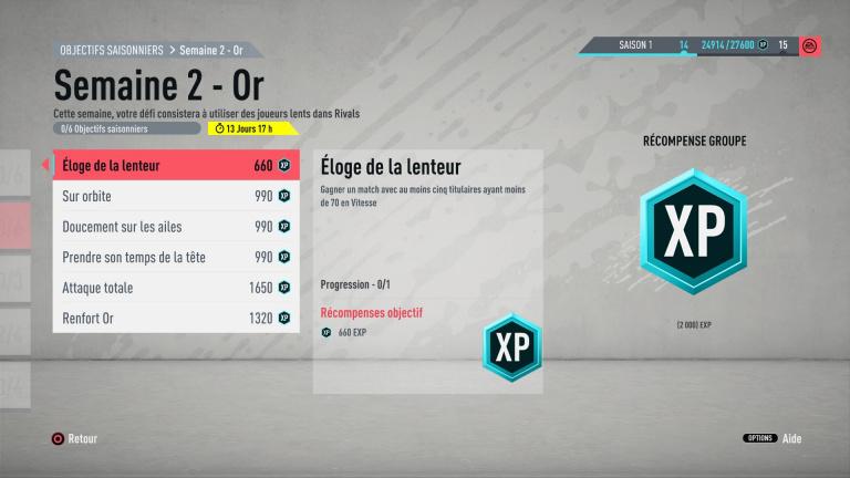 FIFA 20 : défis hebdomadaires saison 1, semaine 2, notre guide