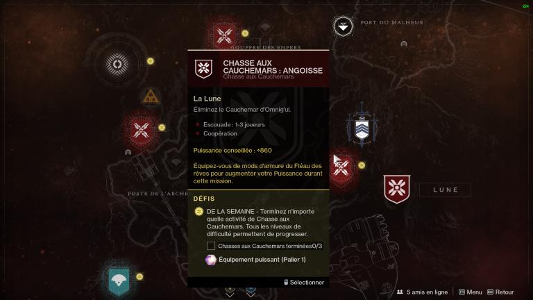 Destiny 2, Bastion des Ombres : Spectres défunts, codes nécrotiques, évents publics, chasse aux cauchemars... découvrez nos guides !