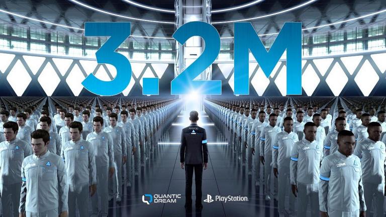 Detroit : Become Human passe le cap des 3 millions de copies vendues avant sa sortie PC