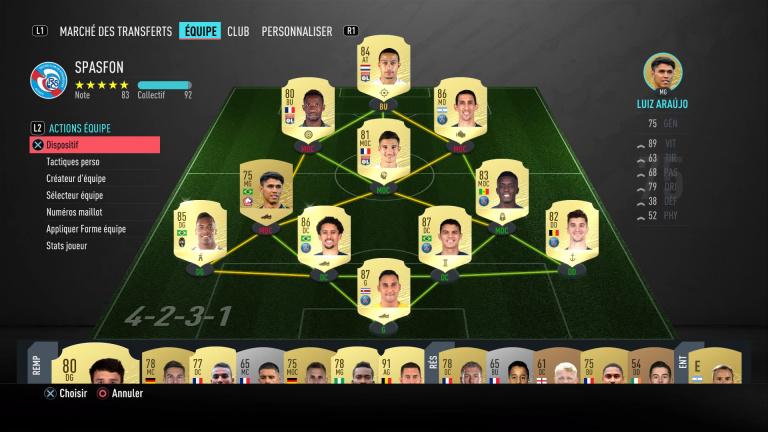 FIFA 20, les formations : les dispositifs défensifs, notre guide
