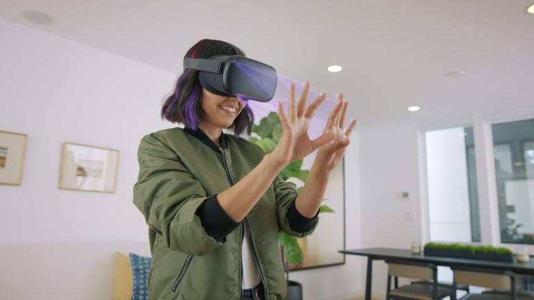 Oculus Quest : le hand tracking réduira l'autonomie du casque de 7%