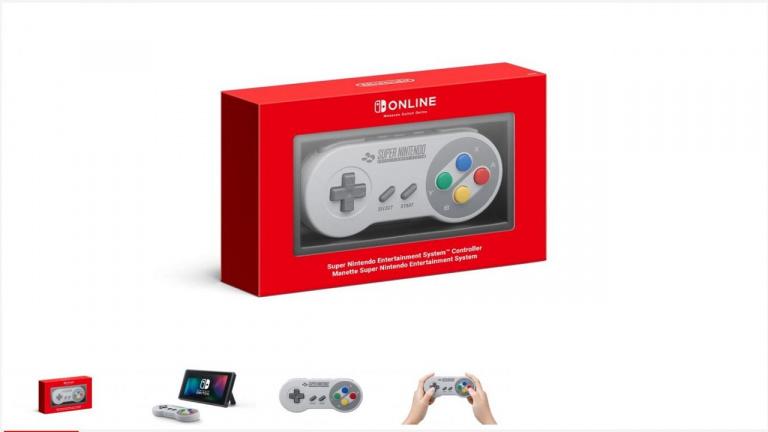 Nintendo : La manette Super Nintendo pour Switch à nouveau disponible
