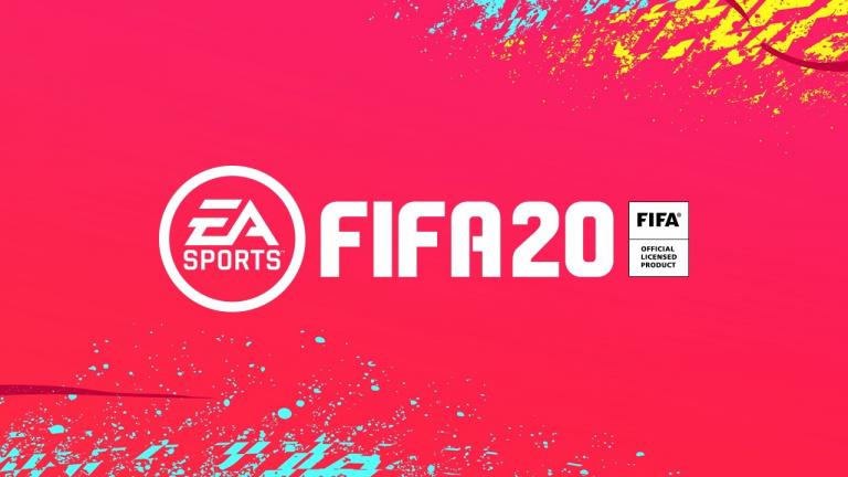 FIFA 20 en réduction de 33% chez Amazon