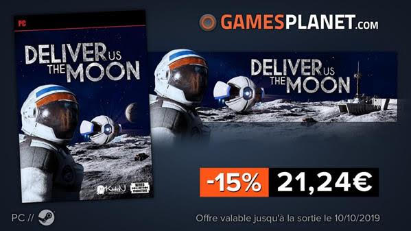 Deliver Us The Moon à -15% chez Gamesplanet