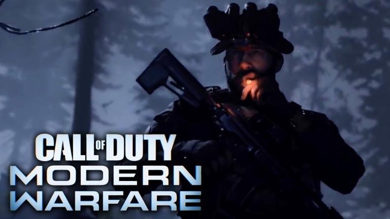 Call Of Duty Modern Warfare en promotion !