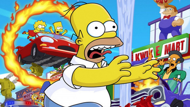 The Simpsons : Hit & Run pourrait bénéficier d'un remake