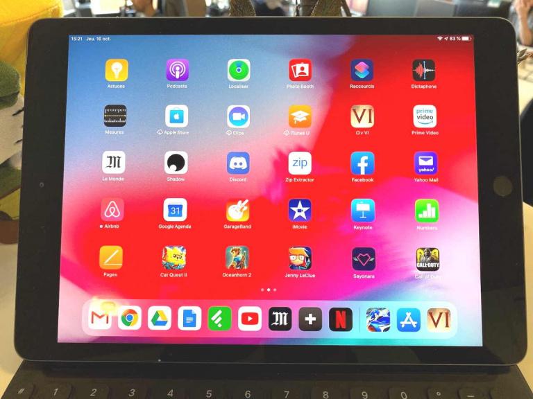 Test de l'iPad 2019, une tablette efficace mais qui peine à se renouveler