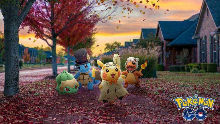 Pokémon GO annonce un événement pour fêter Halloween