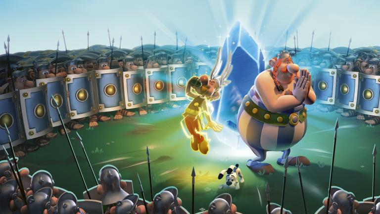 Astérix & Obélix XXL3 nous présente son Menhir de Cristal