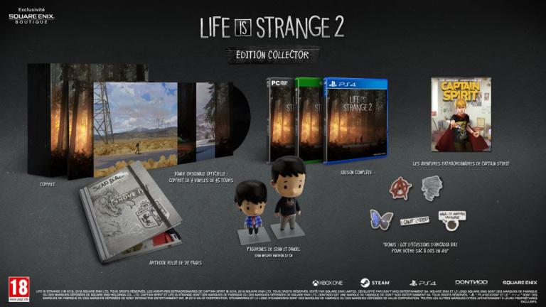 Life is Strange 2 : La saison complète et une édition collector annoncées en Occident
