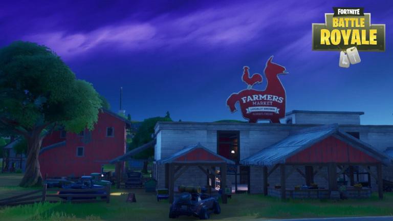 Fortnite, Chapitre 2, saison 1 : Découvrir 10 lieux notables, carte (mission Un nouveau monde)