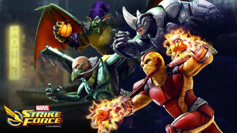 Le jeu mobile Marvel Strike Force se met à jour pour Halloween