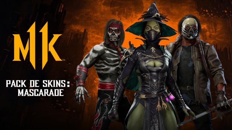 Mortal Kombat 11 aussi, fête Halloween