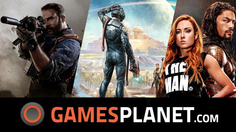 Des sorties et des promotions chez Gamesplanet