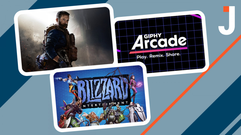 Le Journal : Call of Duty Modern Warfare, Giphy Arcade, Blizzard ... les news du jour