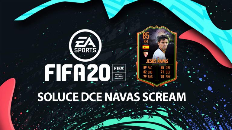 FIFA 20, DCE : Navas Scream, solution du défi création d'équipe
