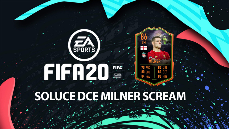 FIFA 20, DCE : Milner Scream, solution du défi création d'équipe