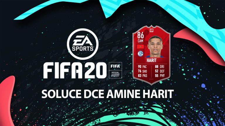 FIFA 20, DCE : Amine Harit, solution défi création d'équipe
