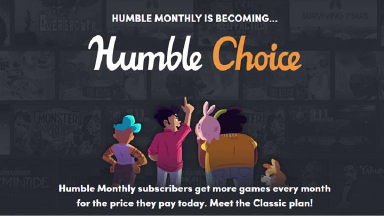 Humble Monthly devient Humble Choice et change sa formule