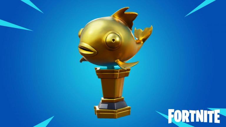 Fortnite, Chapitre 2, saison 1 : Le poisson doré mythique, guide du nouvel objet