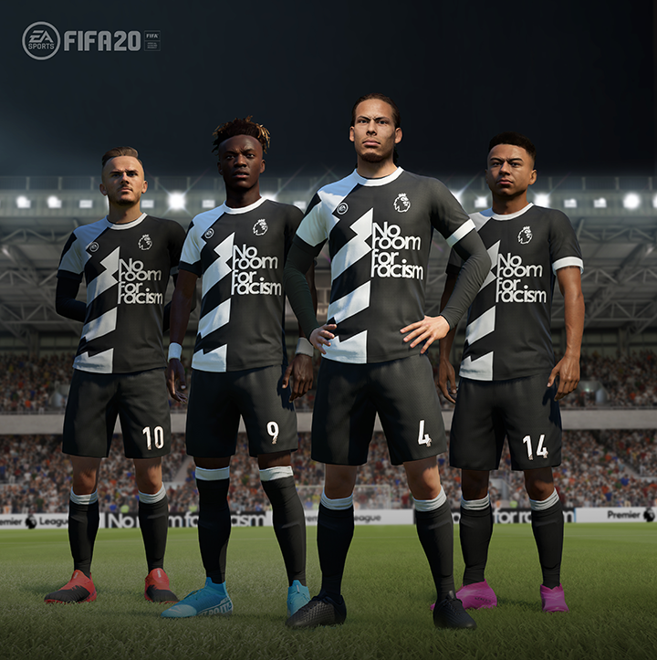 FIFA 20 s'associe à la campagne anglaise No Room For Racism