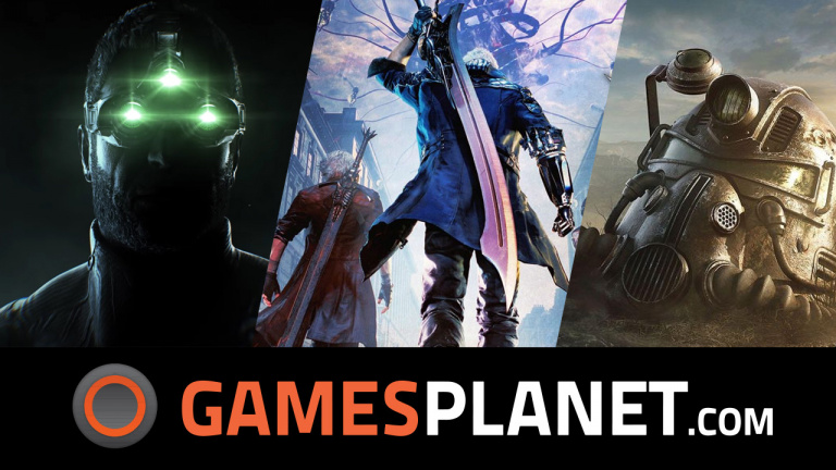 Les jeux Fallout, Splinter Cell et Devil May Cry 5 en promo chez Gamesplanet