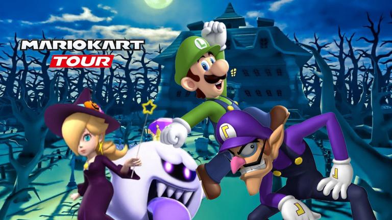 Mario Kart Tour, saison d'Halloween : la liste des coupes et les circuits