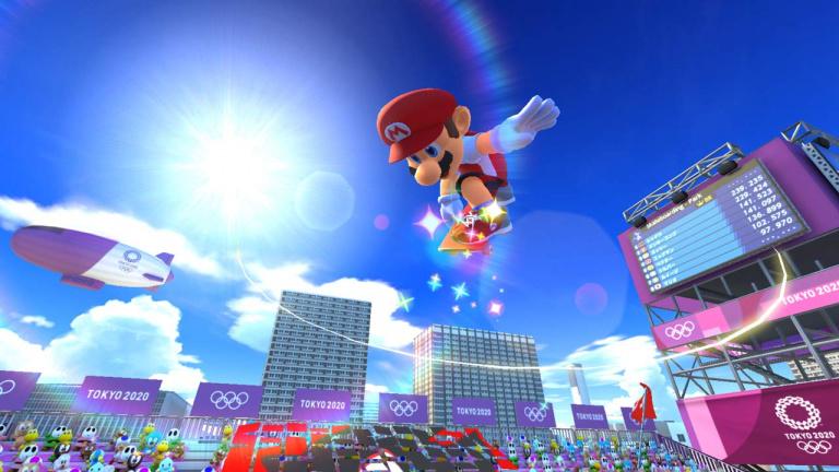 Mario & Sonic aux Jeux Olympiques de Tokyo 2020 : la démo est disponible sur l'eshop français