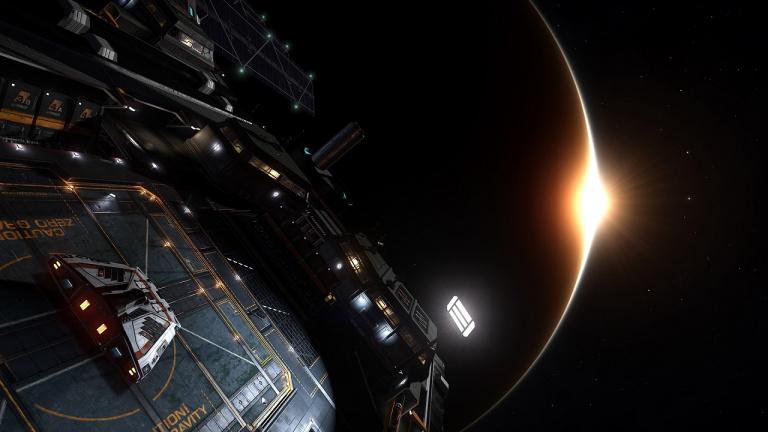 Elite Dangerous : Le nouveau vaisseau Fleet Carrier retardé