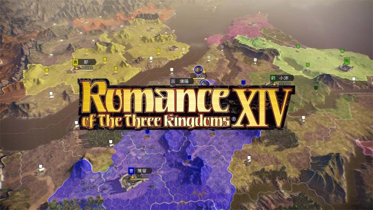 Romance of The Three Kingdoms XIV daté en Occident