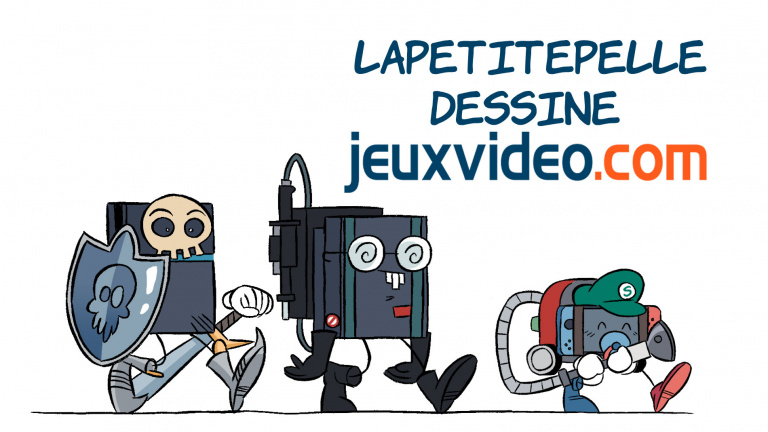 LaPetitePelle dessine Jeuxvideo.com - N°307