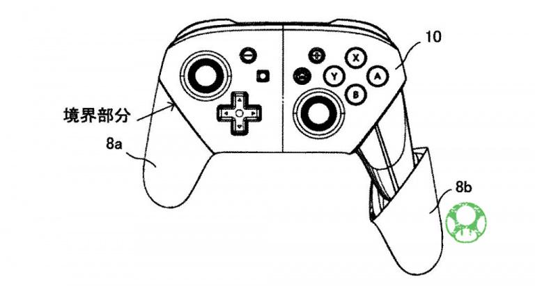 Pro Controller Switch : Une nouvelle version avec des grips améliorés