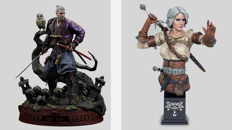 The Witcher 3 - Deux figurines disponibles en précommande