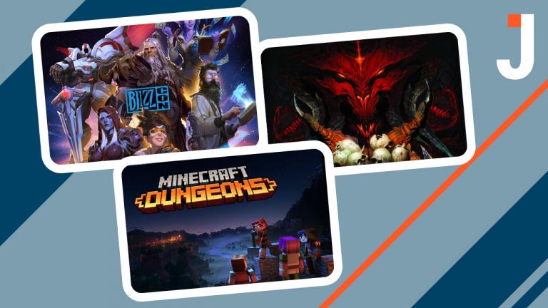 Le Journal : Overwatch 2, Diablo 4, Minecraft Dungeons 2 ... les news du jour