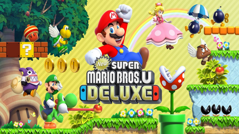 New Super Mario Bros. U Deluxe est le premier jeu Switch approuvé en Chine