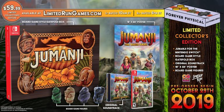 Jumanji : Le Jeu Vidéo dévoile sa Limited Edition