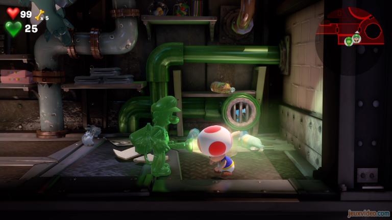 Étage B2 : à la recherche de Toad
